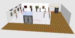小型展览室空调解决方案